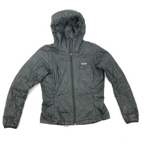 PATAGONIA XS Puffer Quilted Primaloft Solid Black